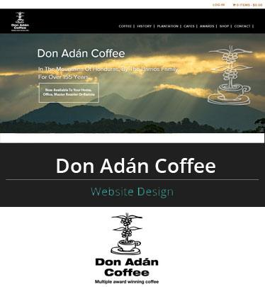 Portfolio – Don Adan Coffee