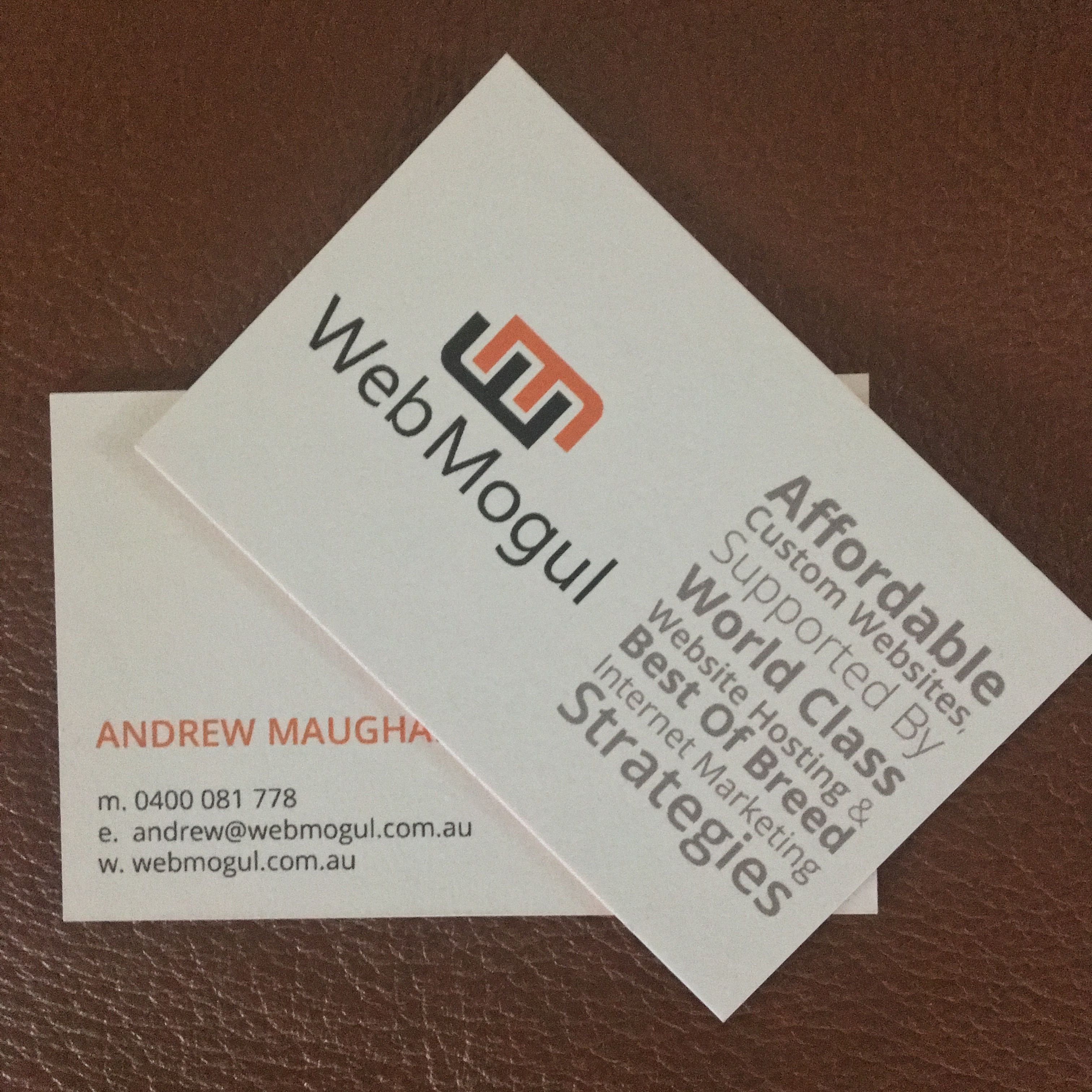 Andrew maughan web mogul
